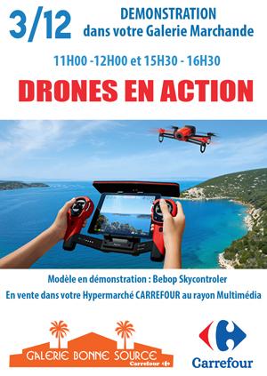 DRONES EN ACTION