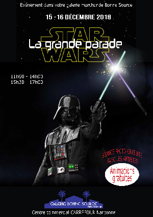 STAR WARS LA GRANDE PARADE