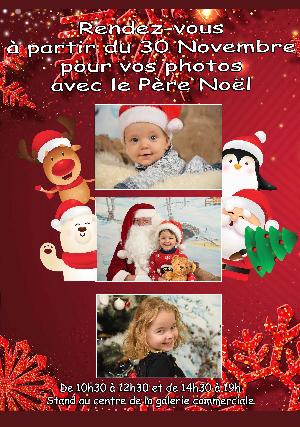 PHOTO du Père Noël
